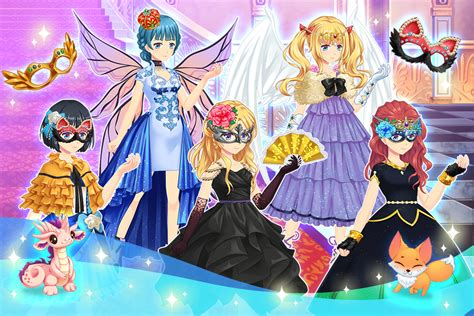 anime free dress up games anime princess dress up android apps on google play