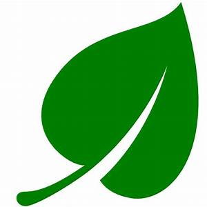 Green Leaf Icon - Free Green Leaf Icons - Cliparts.co