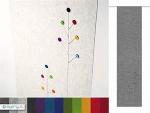 Vorhang Mit Schiene : vorh nge vorhang aus filz mit dots blumen nach ma ~ Sanjose-hotels-ca.com Haus und Dekorationen