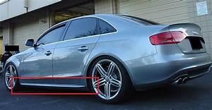 Audi A4 B8 Bremsen : audi a4 b8 rs4 s4 s line look side skirts side bar new ~ Jslefanu.com Haus und Dekorationen