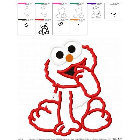 Elmo Applique by Elmo Baby Applique Design Elmo Applique