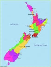 neuseeland fläche neuseeland karte annakarte