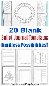 Daily Planner Pages 20 Bullet Journal Template Printables Bullet Journal