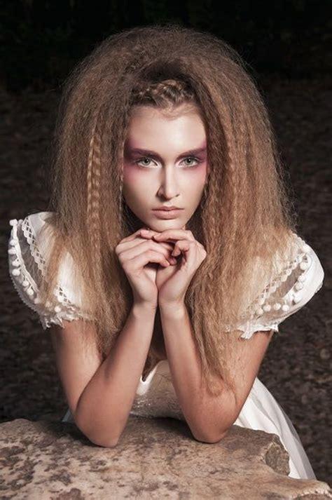 crimped hair ideas   style easily