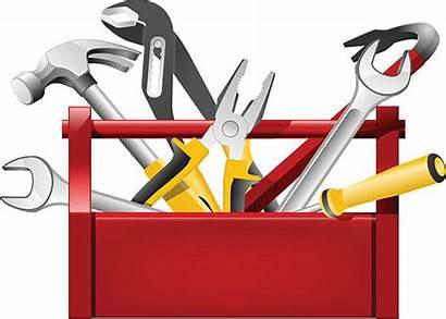 Toolbox Clip Clipart Vector Repairman Illustration Elf