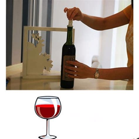 Bar Accessories Sale by 3pcs Lot Wholesale Sale Vacuum Sealed Wine Bottle