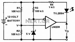 sensor circuit sensors detectors circuits nextgr With voltage monitor