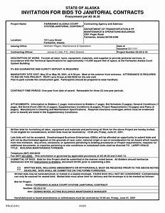 bidding janitorial contracts pdf by nzx76251 sample With janitorial service contract template