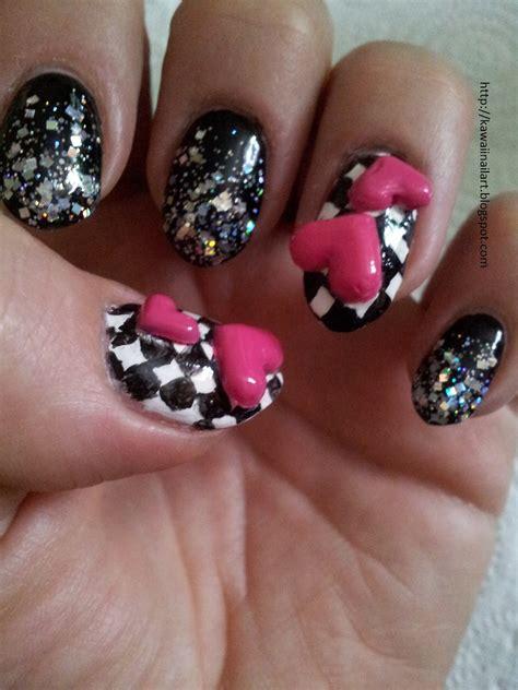 kawaii nail art  nail art