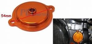 New Billet Oil Filter Cover Ktm Exc 450  500 450sxf Smr450
