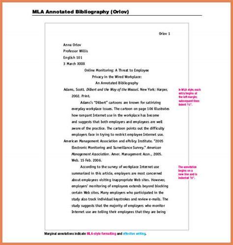 mla format annotated bibliography | bid proposal sample