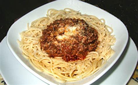 calories pates bolognaise restaurant spaghettis v 233 g 233 tariens fa 231 on bolognaise ma cuisine sant 233