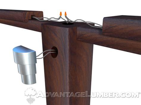 how to install a post light deck lighting 101 side mount lights advantagelumber