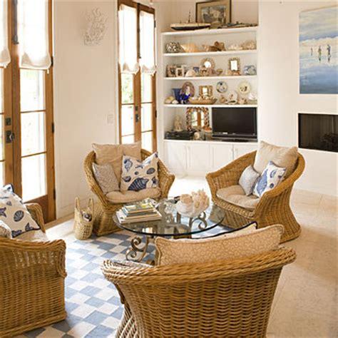 outdoor indoor wicker furniture for coastal style living