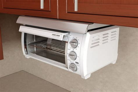 space saver toaster oven under cabinet adding under cabinet toaster ovens in your kitchen space