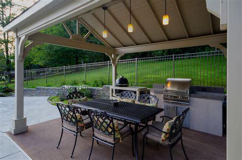 kitchen island overhang fifthroom com s 12x14 vinyl gable ramada protects guests