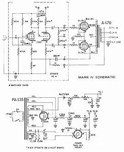 Dynaco Dynakit Mark Iv Tube Amplifier Schematic