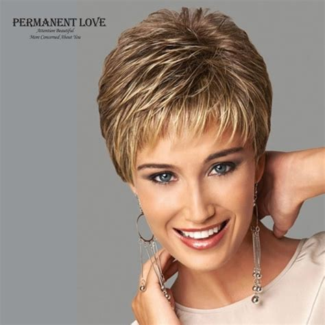 Hairstyles For Pixie Cut by Womens Synthetic Wigs Pixie Cut Hairstyle