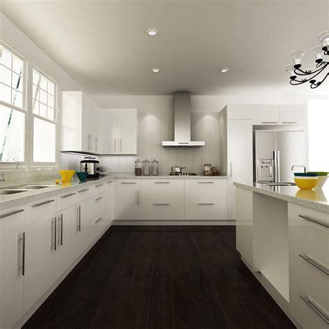cuisine blanc laqu馥 cuisine moderne blanc laqu noir laqu et laqu blanc armoires de cuisine cuisine blanche ilot central en bois blanc cuisine siematic