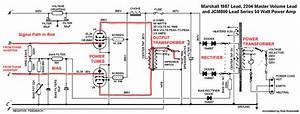 Marshall 2204 Master Volume Tube Guitar Amp Power Amp