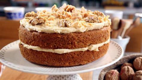 bbc food recipes fudgy walnut cake