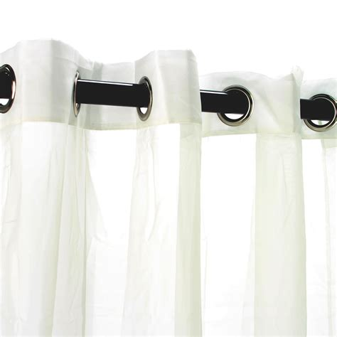 sheer ivory polyester outdoor curtains dfohome