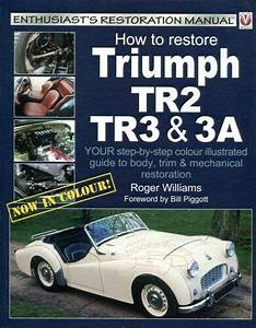 Restoration Manual Book How To Restore Triumph Guide Tr3