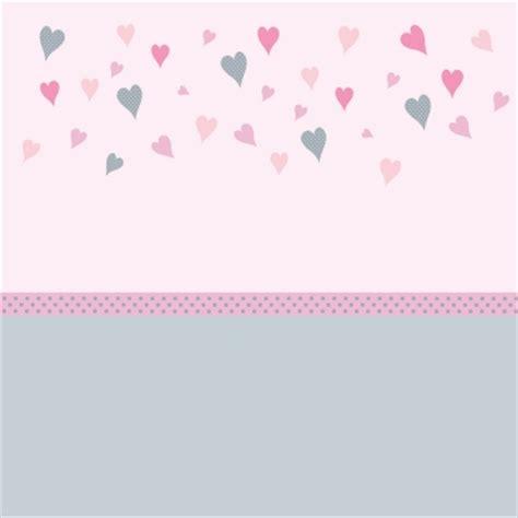 frise pour chambre bébé papier peint coeurs et gris bas gris lili pouce