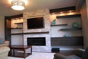 Interior cool chandelier design ideas with mounting tv