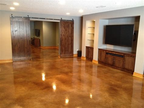 zep floor finish for stained concrete acid stained basement floors basement floor alternatives