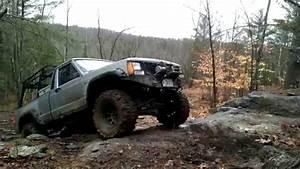 1988 Jeep Comanche Off Road Climbing