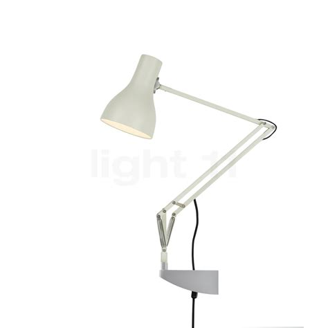 anglepoise type 75 desk l with wall bracket at light11 eu