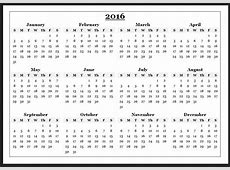 Yearly Calendar Free yearly printable calendar