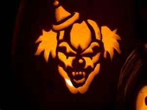 Clown Pumpkin Stencils Free by Scary Clowns A Gallery On Flickr