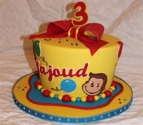 curious george birthday cakes original embed kaleb