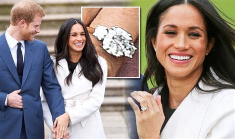 meghan markle engagement ring  prince harry valued
