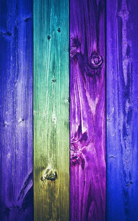 blue purple wooden planks lockscreen android wallpaper