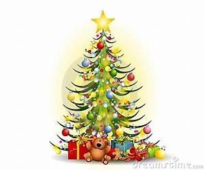Christmas Tree Gifts Clip Art Stock Image - Image: 6989651