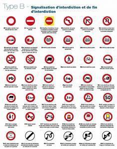 Inscription Code De La Route Prix : panneaux de signalisation d interdiction et de fin d interdiction type b en 500mm signal tique ~ Maxctalentgroup.com Avis de Voitures