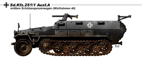 sd kfz 251 1 ausf a by nicksikh on deviantart