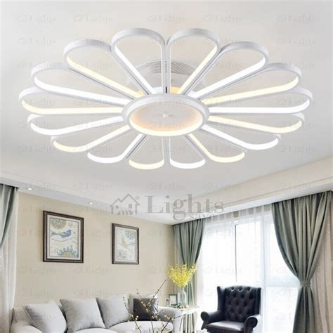 bedroom ceiling fans with lights creative fan shaped led ceiling light fixtures for bedroom