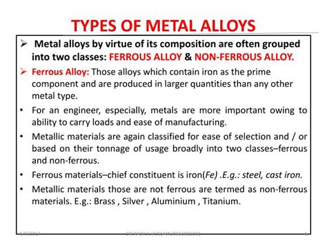 Metal Processing Powerpoint Presentation