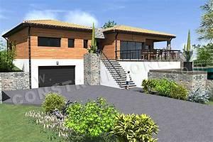 Type De Sol Maison : plan de maison moderne autan ~ Melissatoandfro.com Idées de Décoration