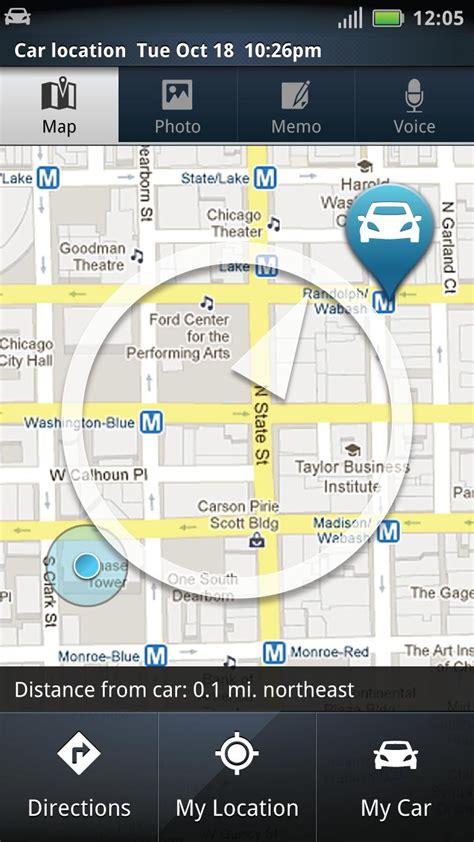 motorola releases special car finder app  droid razr