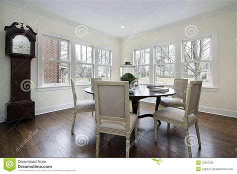 dining room  grandfather clock stock image image