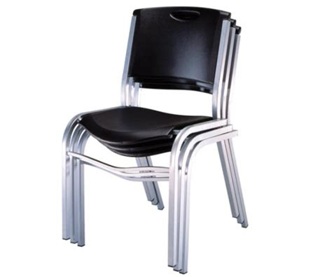Lifetime Stacking Chairs 2830 by Lifetime 2830 Lifetime Black Stacking Chair On Sale Free