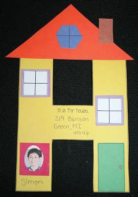 letter hh shape craftivity classroom freebies