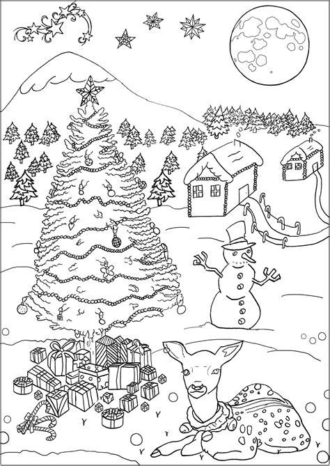 disegni da colorare per adulti persone natale 16066 natale disegni da colorare per adulti