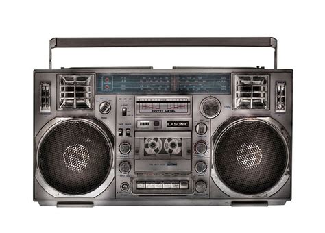 Rd Ijo Bpom design is history is mine boomboxes 1970s 80s