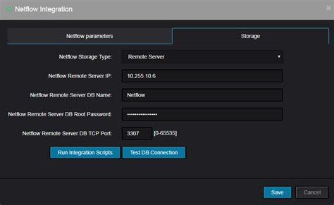 configuring netflow collector integration  nectus